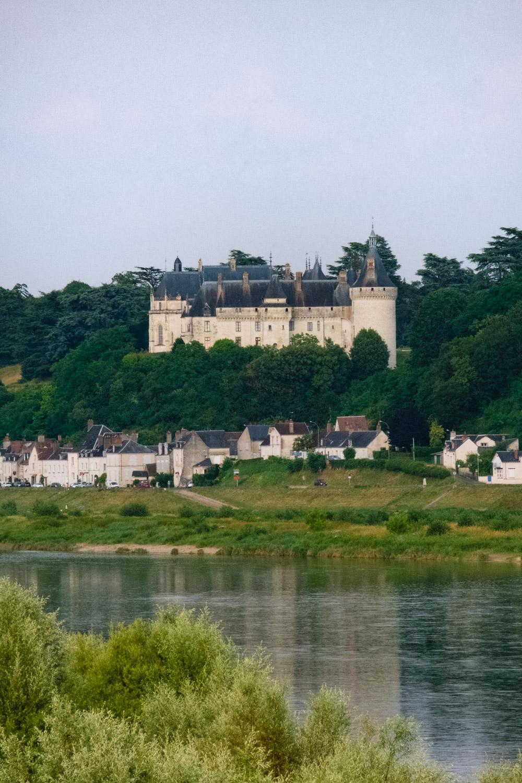 The Château de Chaumont in a portrait composition