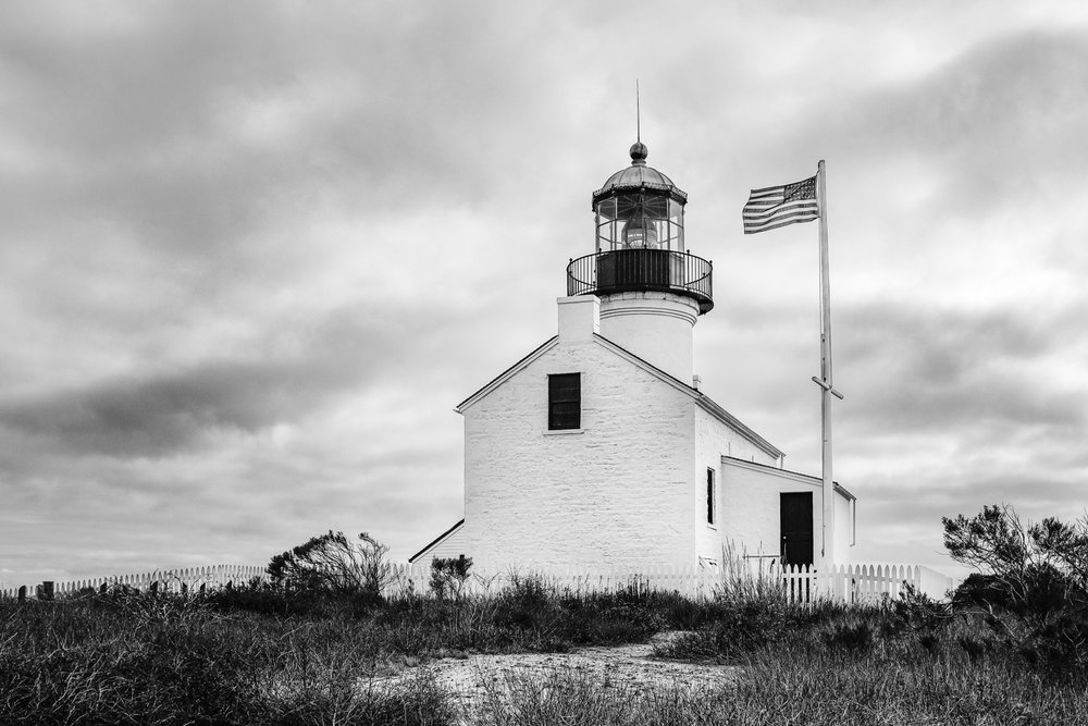"Old Point Loma Lighthouse - San Diego travel guide by ""And Then I Met Yoko"". Photography by Natasha Lequepeys #travelphotography #travelblog #sandiego"