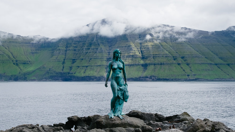The Faroese Seal Woman on Kalsoy