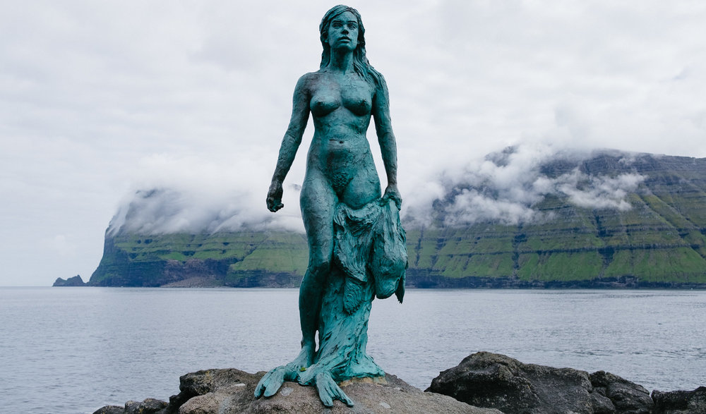 Kopakonan - The Seal Woman on the island of Kalsoy