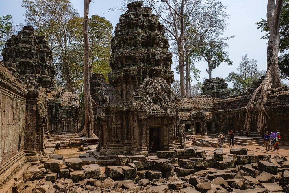 The inside remains of Ta Prohm.     #siemreap #taprohm #travelguide #angkorwat #siemreapitinerary #cambodia #travelphotography #landscapephotography #fujifilm #siemreapprivatetour