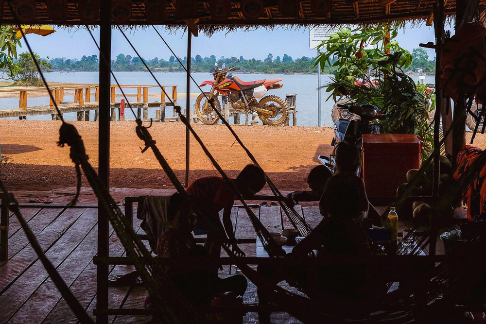 Lunch break in hammocks in the backcountry of Siem Reap.     #siemreap #travelguide #travelblog #siemreapitinerary #cambodia #travelphotography #landscapephotography #fujifilm #siemreapprivatetour