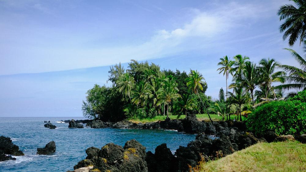 Keanae Lookout in Maui