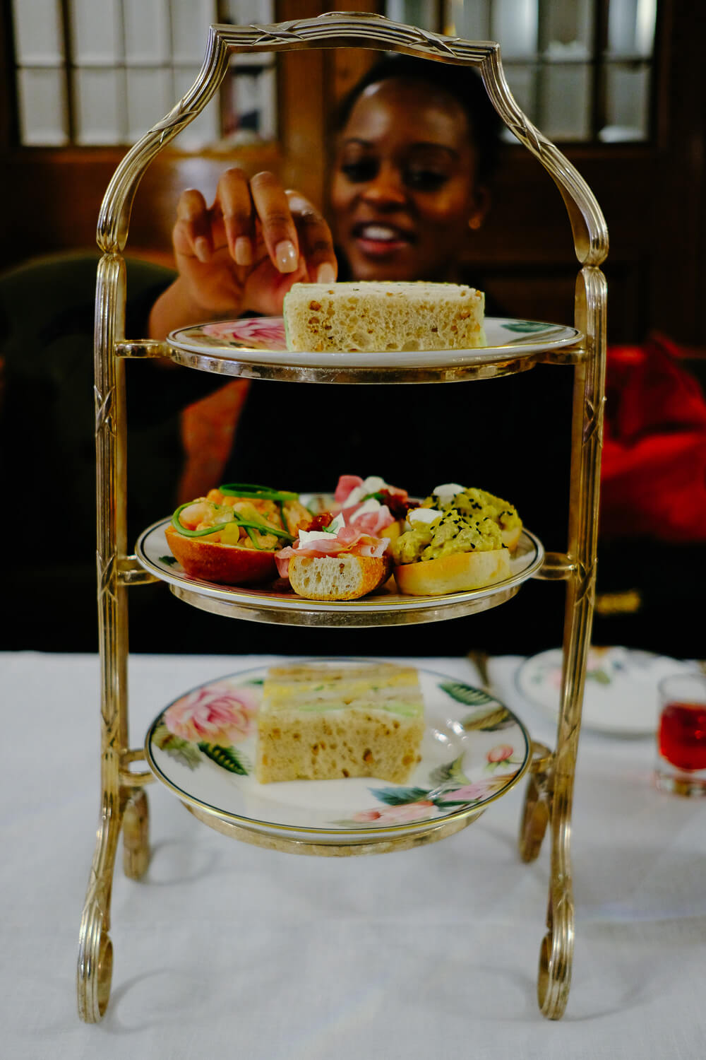 High Tea at Brown's Hotel