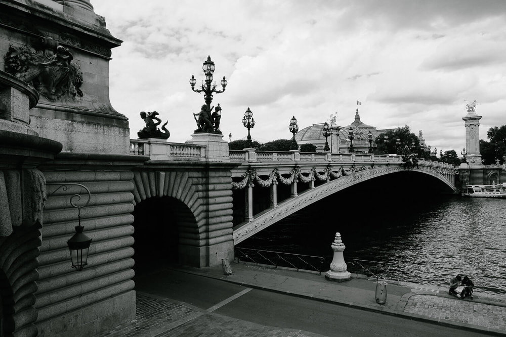 """Pont Alexandre III in Paris. Travel photography and guide by © Natasha Lequepeys for """"And Then I Met Yoko"""". #paristravel #photoblog #travelguide #france #parisitinerary"""