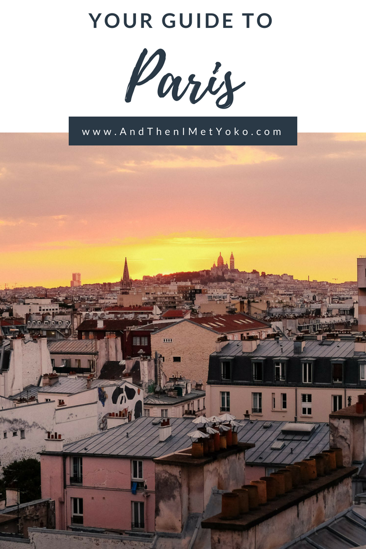 """A travel guide to Paris including a map with a flexible itinerary depending on your travel time. Plus tips for food and sights. Travel photography and guide by © Natasha Lequepeys for """"And Then I Met Yoko"""". #paris #paristravel #photoblog #travelguide #france #parisitinerary #parishighlights #parissights #travelblog #travelphotography #landscapephotography #travelitinerary #fujifilm #paristravelguide #architecturephotography #europe #travelblogger #wanderlust #explore #travel"""
