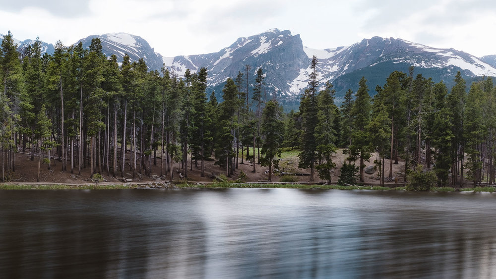 Sprague Lake in RMNP