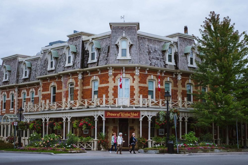 "Prince of Wales Hotel, Niagara-On-The-Lake. Travel photography and guide by © Natasha Lequepeys for ""And Then I Met Yoko"". #ontario #canada #travelblog #niagaraphotography #travelitinerary #fujifilm"