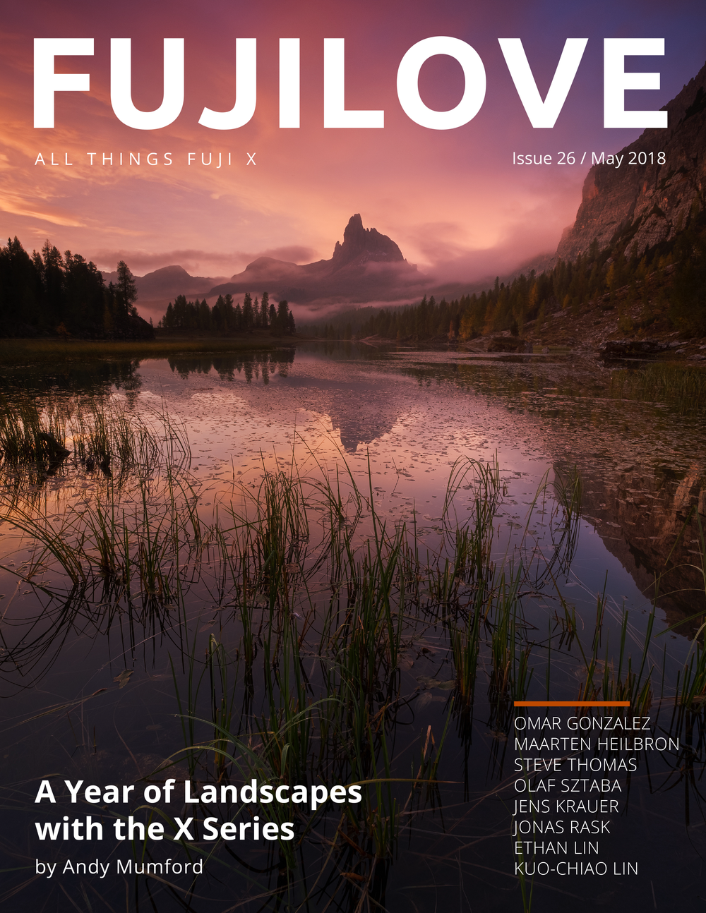Fujilove Magazine gift guide for photographers