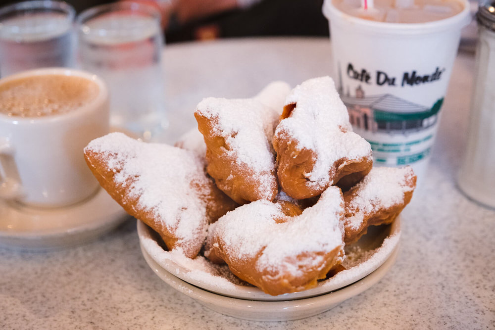 Beignets at Café du Monde - CASH ONLY