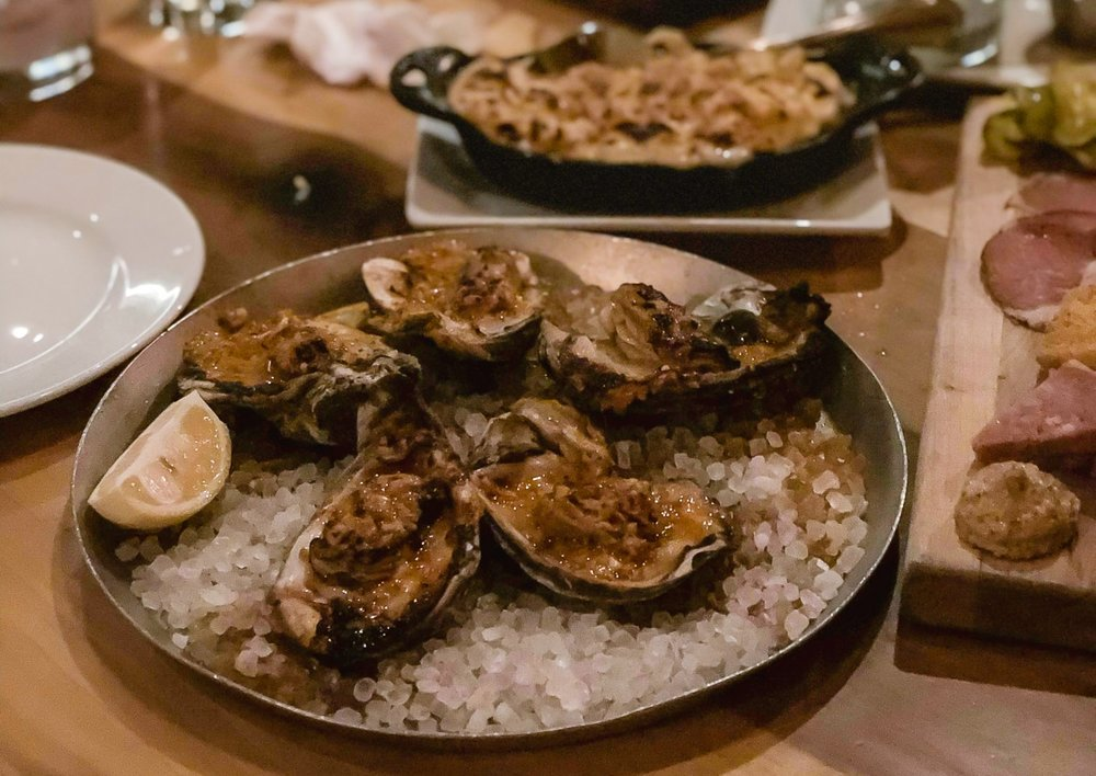 Wood-Fired Oysters