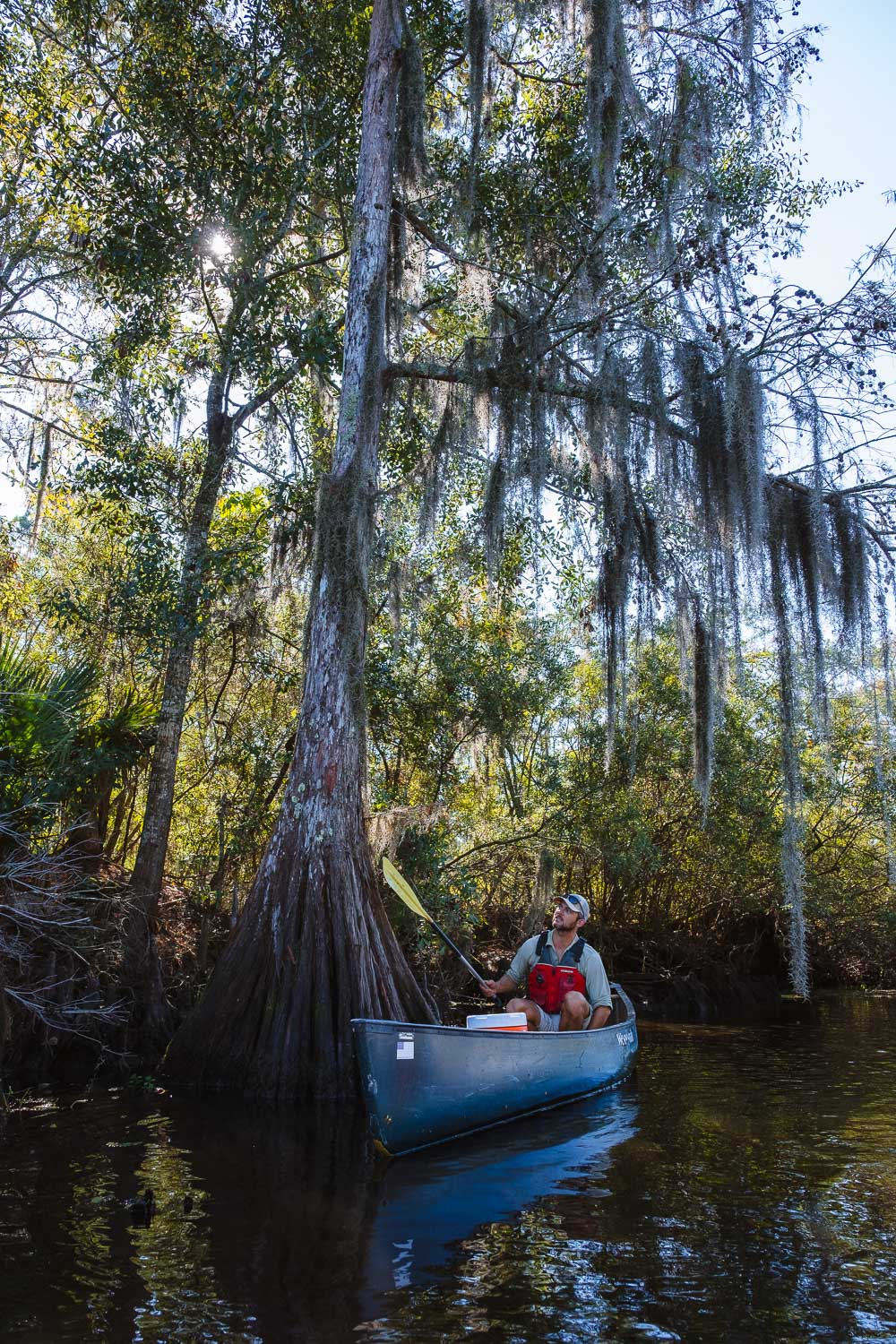 "Kayaking Tour Guide - Travel photography and guide by © Natasha Lequepeys for ""And Then I Met Yoko"". #neworleans #nola #photoblog #travelitinerary #fujifilm #kayaking #naturephotography"