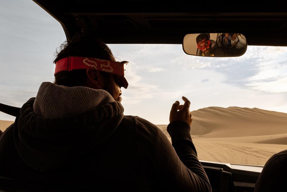 "Ica tour guide, Luis, Peru. Travel photography and guide by © Natasha Lequepeys for ""And Then I Met Yoko"". #huacachina #photoblog #travelblog #tourguide #fujifilm #blogger"