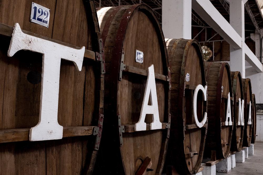 "Wine barrels at Tacama Winery, Ica. Travel photography and guide by © Natasha Lequepeys for ""And Then I Met Yoko"". #photoblog #ica #travelblog #travelphotography #fujifilm #blogger #vineyard"