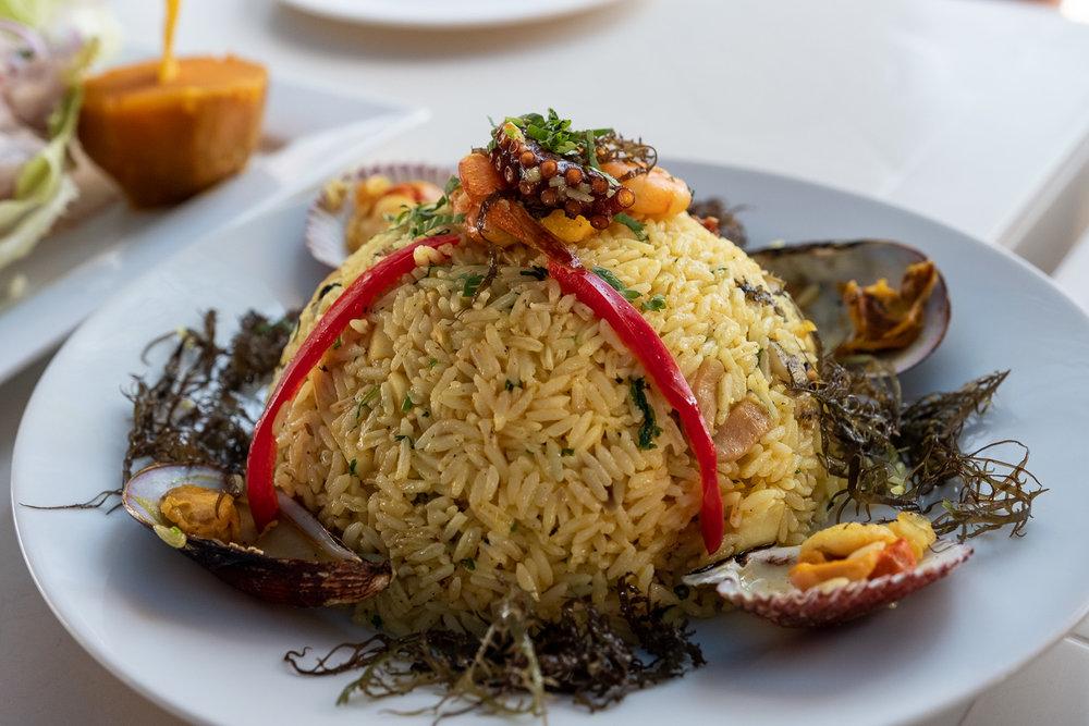 "Arroz chaufa de mariscos, Ica. Travel photography and guide by © Natasha Lequepeys for ""And Then I Met Yoko"". #photoblog #peru #travelblog #foodphotography #fujifilm #blogger #foodie"