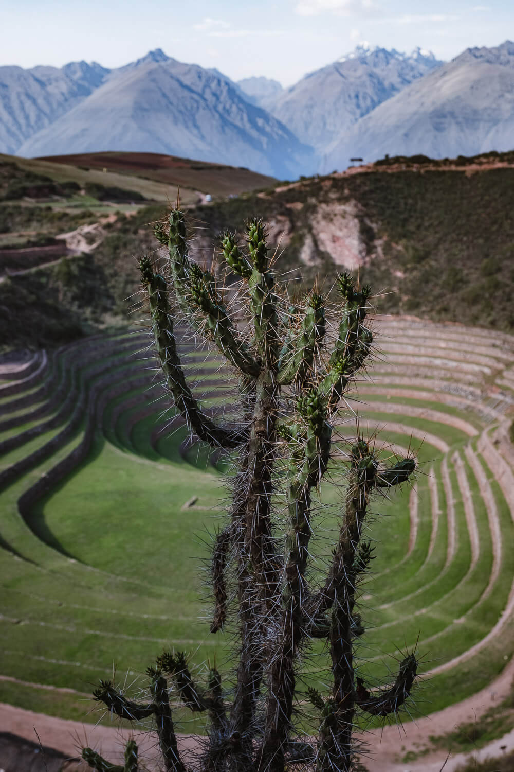 """Terraces of Moray in The Sacred Valley, Peru. Travel photography and guide by © Natasha Lequepeys for """"And Then I Met Yoko"""". #travelguide #photoblog #fujifilm #machupicchu #ValleSagrado #travel"""