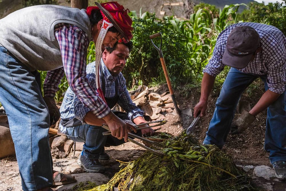 "A pachamanca in The Sacred Valley, Peru. Travel photography and guide by © Natasha Lequepeys for ""And Then I Met Yoko"". #travelguide #photoblog #fujifilm #machupicchu #ValleSagrado #travel"