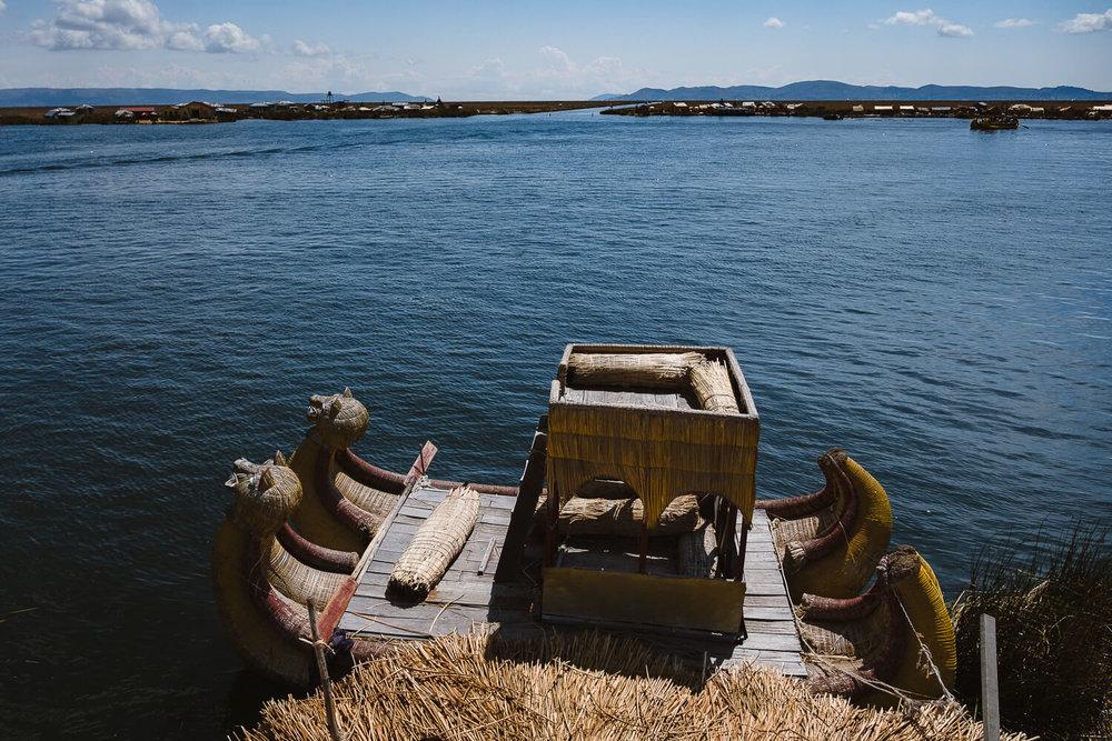 "The reed boat, Uros Island. Travel photography and guide by © Natasha Lequepeys for ""And Then I Met Yoko"". #peru #laketiticaca #amantani #taquile #homestay #culturalexperience #photoblog #travelblog #travelphotography #fujifilm #travel #travelperu #southamerica #allwaystravel #laketiticacaitinerary #puno #uros #floatingislands #pachamama #pachatata"
