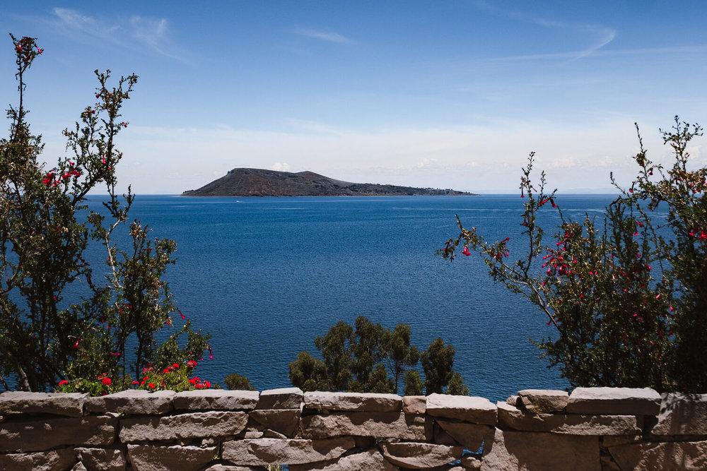 "A view of Amantani Island, Taquile Island. Travel photography and guide by © Natasha Lequepeys for ""And Then I Met Yoko"". #peru #laketiticaca #homestay #photoblog #travelblog #fujifilm"
