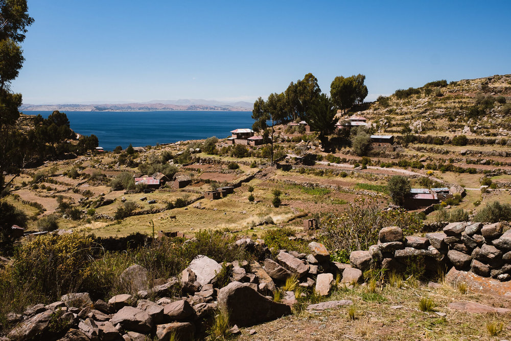 """Views from the hike, Taquile Island. Travel photography and guide by © Natasha Lequepeys for """"And Then I Met Yoko"""". #peru #laketiticaca #amantani #taquile #homestay #culturalexperience #photoblog #travelblog #travelphotography #fujifilm #travel #travelperu #southamerica #allwaystravel #laketiticacaitinerary #puno #uros #floatingislands #pachamama #pachatata"""