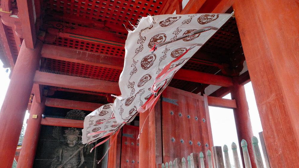 "Tōdai-ji temple inside Nara Park. Travel photography and guide by © Natasha Lequepeys for ""And Then I Met Yoko"". #japan #japanitinerary #travelblog #fujifilm #asia"