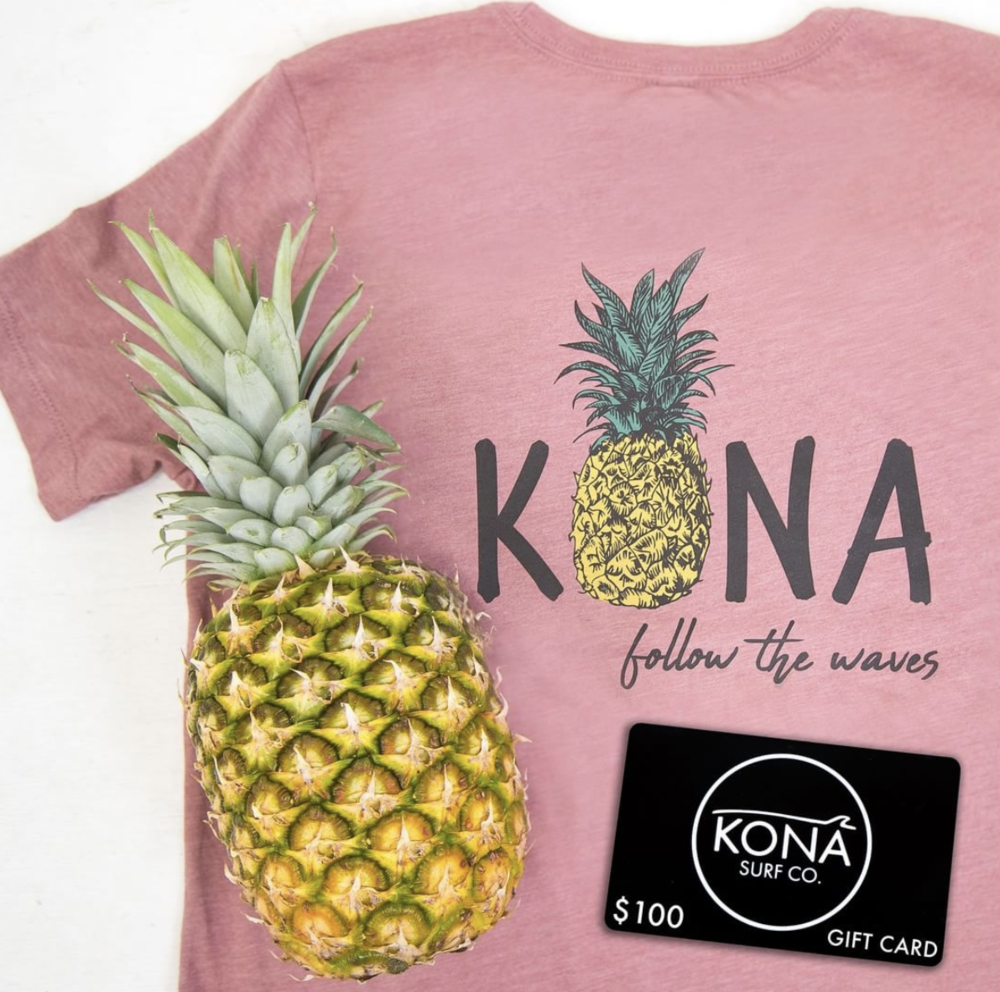 Graphic Design // Kona Surf Shop