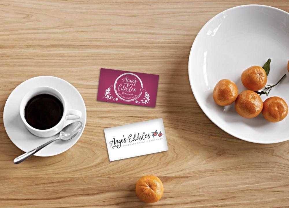 Logo Design // Angie's Edibles