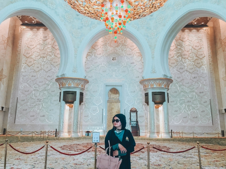 Abu Dhabi, United Arab Emirates  - Part of becoming a travel blogger is to open your mind to various cultures and religions? I have setup a solo travel blog in order for me to broaden my perspective and become a better person.