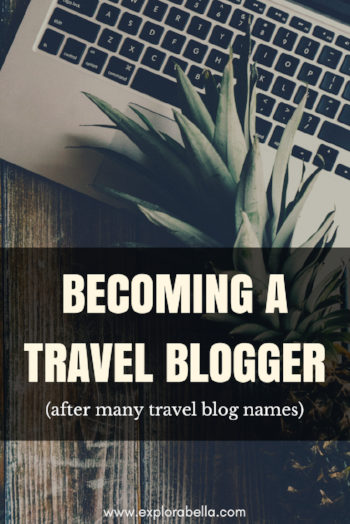 Launching my solo travel blog and become a travel blogger, offering travel planning and vacation ideas for the solo female traveler.