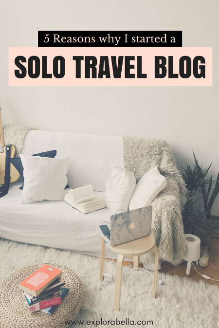 I started travel blogging to share travel stories, lessons, experiences, as well as tips from a solo female traveler's perspective. Aside from those, I have my advocacies, platforms, and want to inspire everyone to unleash the courage they have within.