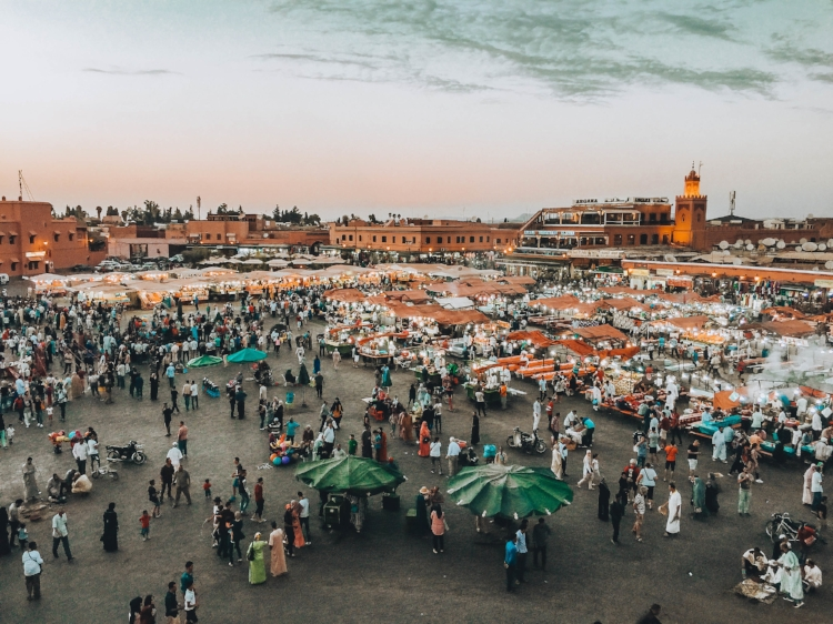 For me, inside the Medina is one of the best places to stay in Marrakech. You are very close to the famous and chaotic Jemaa el Fna, a UNESCO heritage site. I would like to experience as much of the local culture and learn new things.