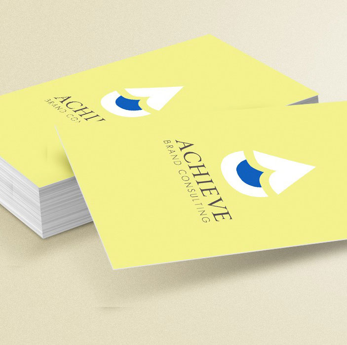 Achieve Business Card Graphic Design