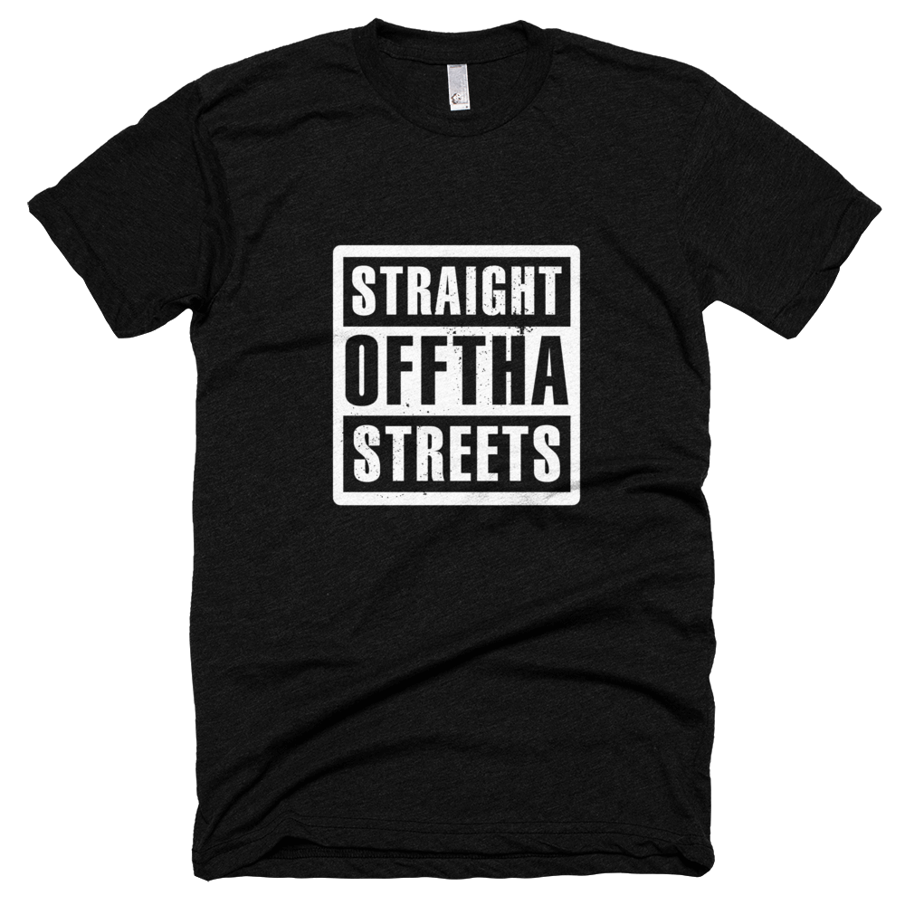 Support our campaign! - Purchase an exclusive SPR Straight Offtha Streets t-shirt!