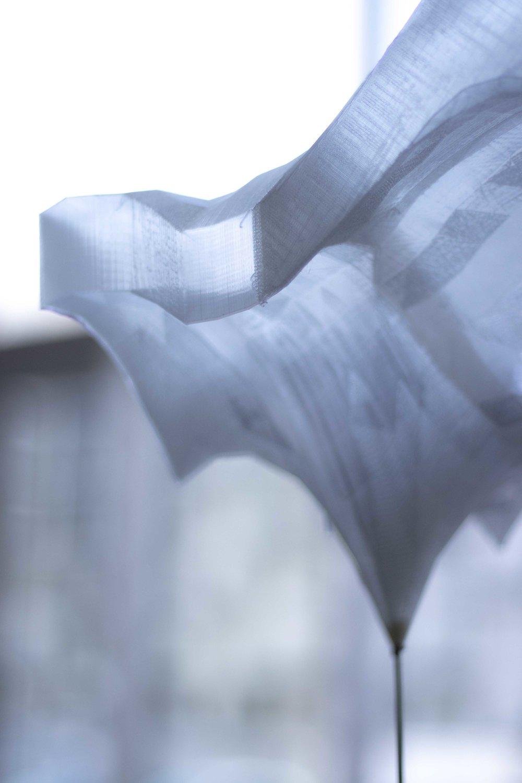 3D-printed Ice Sky close-up.