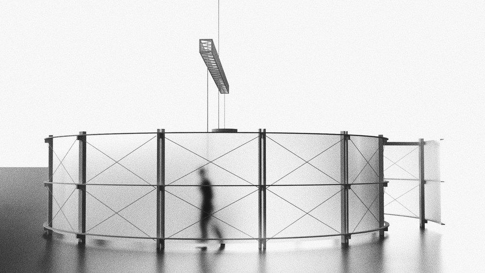 Visualization of the Reduced Gravity Pavilion