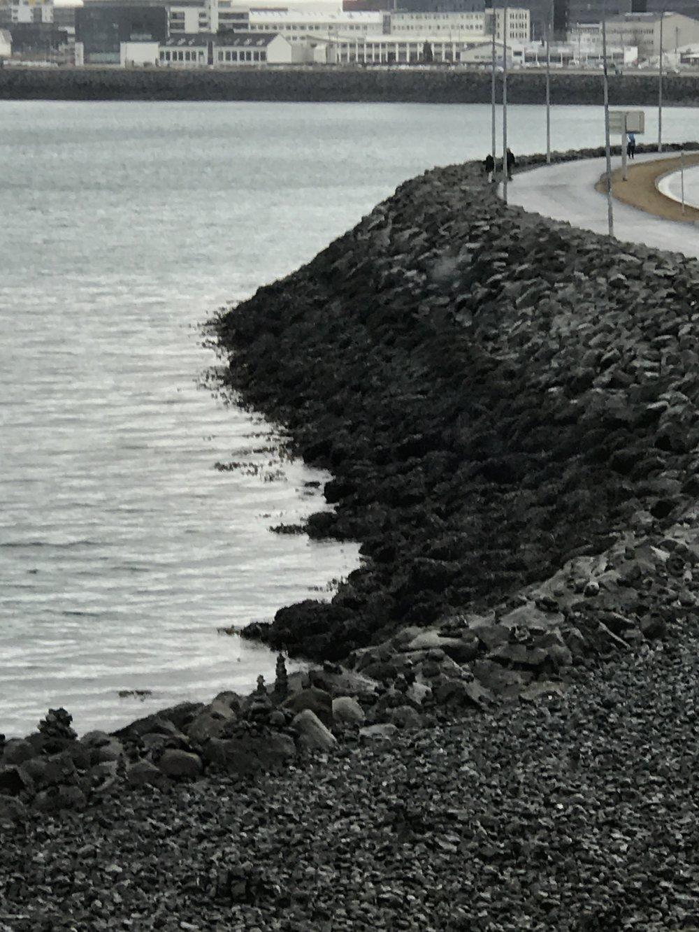 gorgeous shoreline near city centre