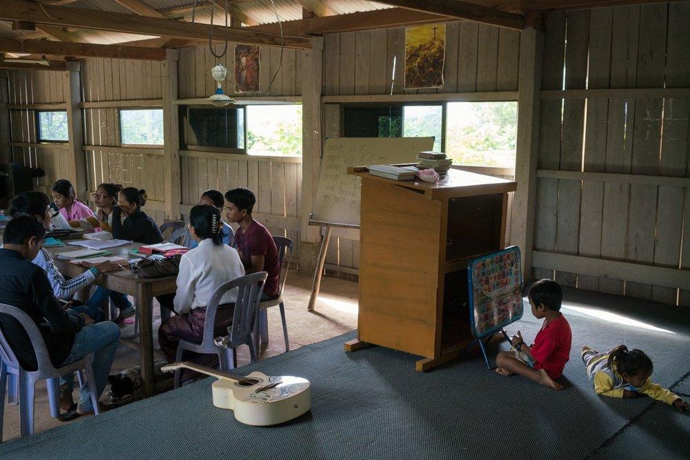 Former Khmer Rouge cadres turned Christians