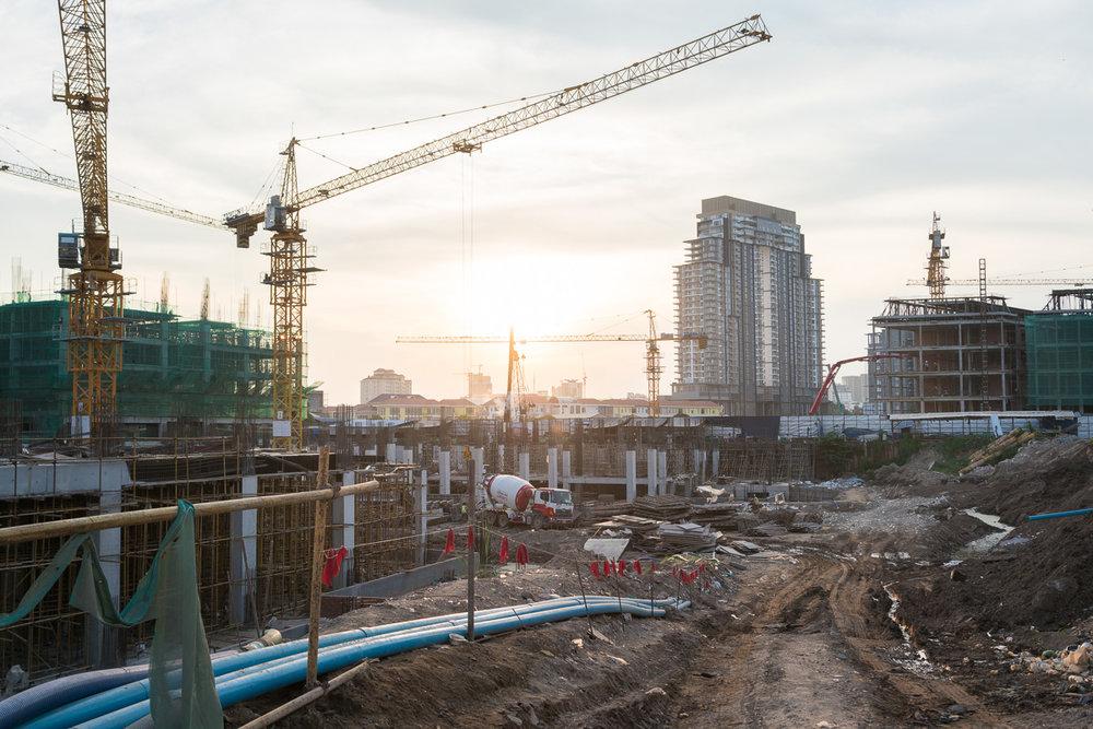 Construction sites Koh Pich