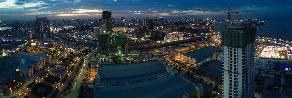 Development in Koh Pich - Phnom Penh
