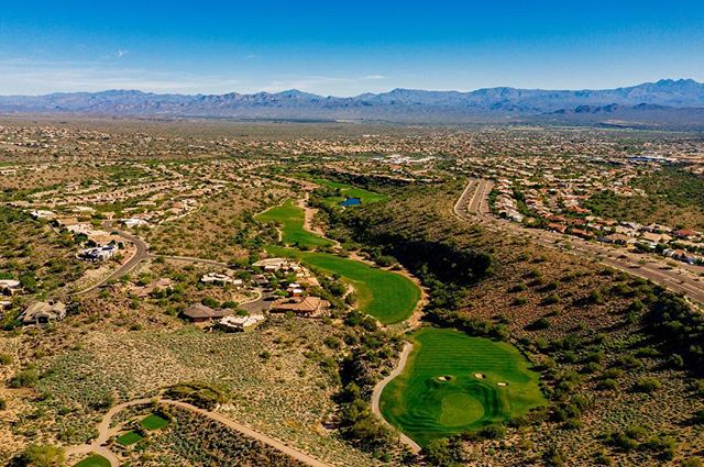 COME TAKE THE WICKED 6 CHALLENGE! Six of the best finishing holes in Arizona. Made up of two par 5's, two par 4's and two par 3's. #desertgolf #arizonagolf #sunridgegolfclub #wickedsix