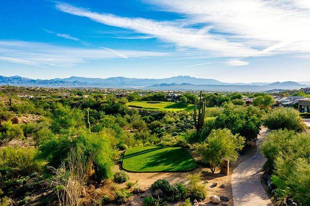 Hole 6 Par 3 #desertgolf #arizonagolf #sunridgegolfclub #wickedsix