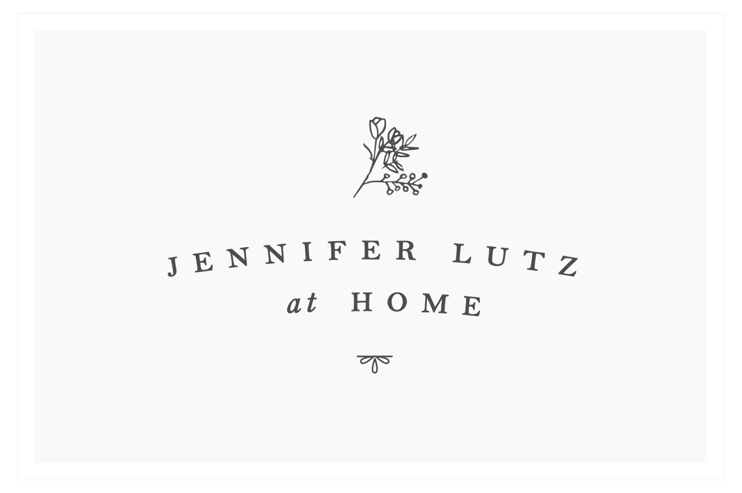 Jennifer Lutz at Home
