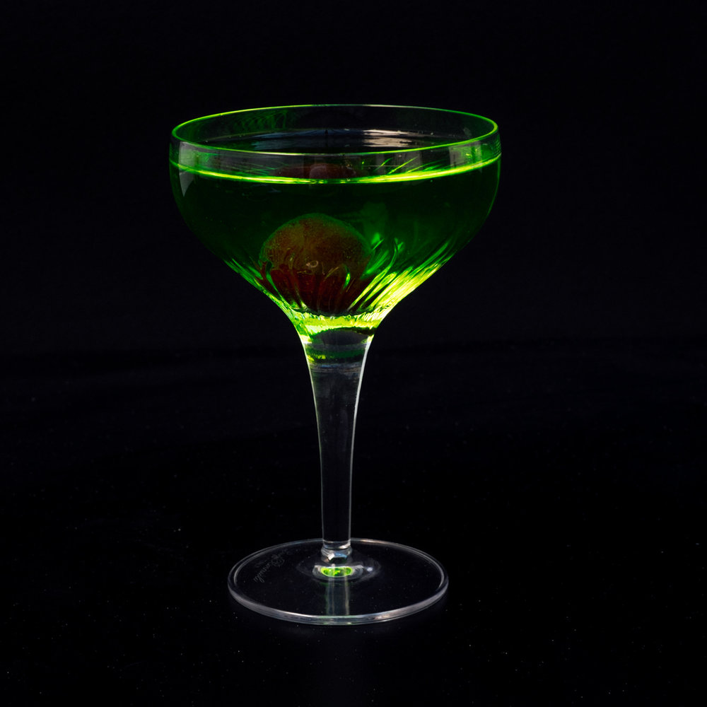 Chinese Slipper - Martell VS, Luxardo, Applewood Lemoncello, Midori
