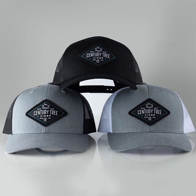 """Check out our snazzy new hats that are waiting for you in our online shop!  Made right here in the USA, these premium trucker hats look great on everyone.  Give the gift that is on everyone's list this year! • Enter the code """"FREESHIP50"""" to receive free shipping on your entire order over $50. • Huge shoutout to @jordanwdesigns for all of the amazing swag designs and product photography!"""