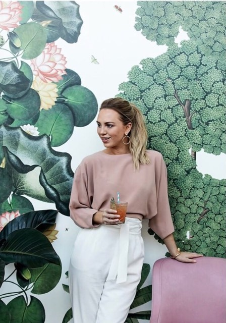 @thebotanicavaucluse - has captured the instagram fit out perfectly! Trending botanical wall paper and tones of pink, hanging greenery has made this venue an instagram hot spot.