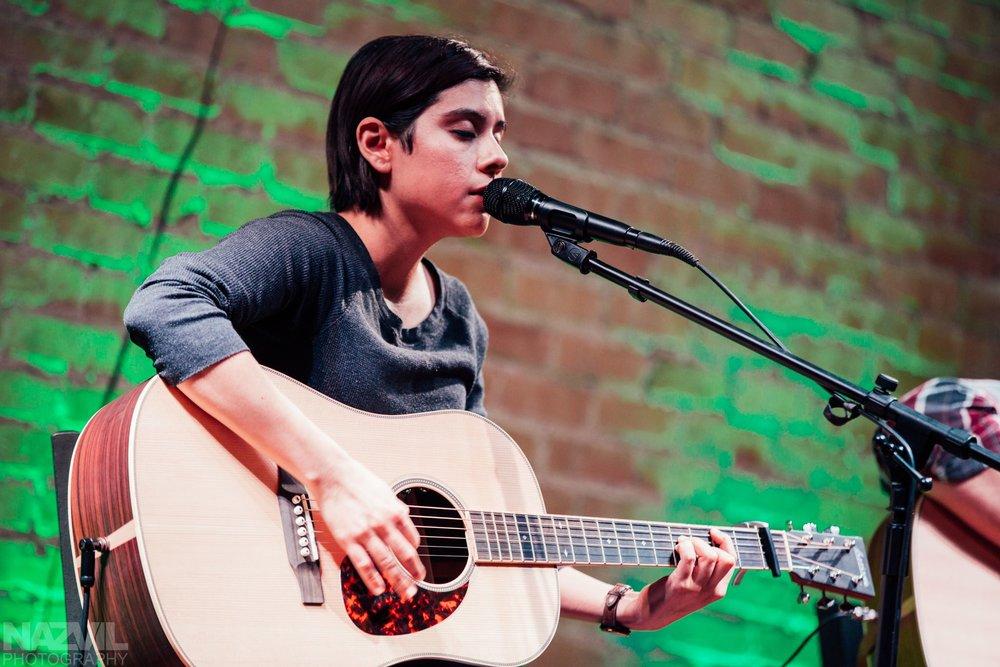Former student Tina Van performing at The Prelude - Harlingen,TX
