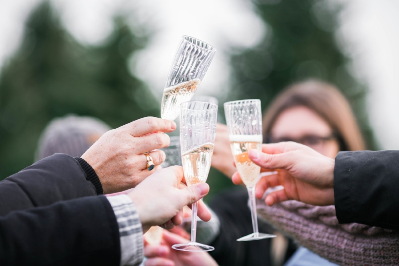 Your guests need cold champagne for the all-important toast!