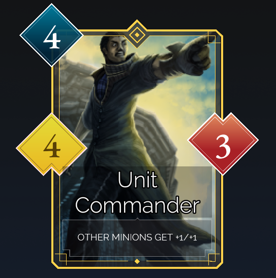 A unit created in the Hero Creator