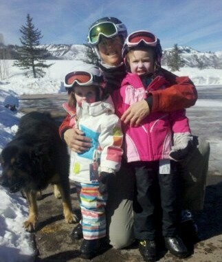 Two Creeks Skiing with Family