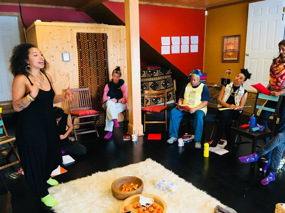 Participants learn to integrate radical self-care with their world-changing purpose(s).